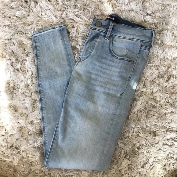 Express + Petite + Skinny jeans + Sz 0p